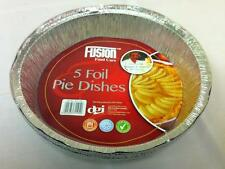 Foil Pie Dishes (Perfect For Kitchen Cooking - Re Usable)
