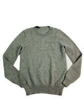 Crew Cuts Boys Cotton Cashmere Gray Sweater Size 14