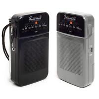 *NEW* Jameson Electronics AM/FM Pocket Portable Battery Operated Radio
