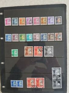 Hong Kong - 20 Different Used QE II Definitive Stamps From 1992 + Multiples