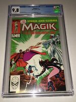 Magik #1 CGC 9.8 NM/MT White Pages Marvel 1983 Limited Series Illyana Rasputin