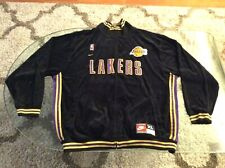 Lakers Kobe Bryant #8 All Embroidered Black Jacket Adult Extra Large XL Nike