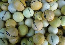 200 gelbe  Rangebälle Golfbälle  für Crossgolf und zum üben
