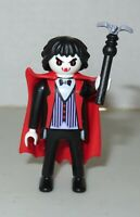 Playmobil Series 15 Male Vampire Dracula 70025 Red Cape Halloween New open packg
