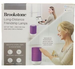 Brookstone® Friendship Table Lamps - Open Box - Excellent Condition Set Of 2