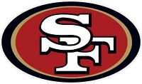 "San Francisco 49ers NFL Vinyl Decal Sticker - You Choose Size 2""-46"""