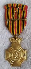 medaille belgique 1° classe Avers