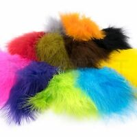 EXTRA SELECT STRUNG MARABOU - Long Fly Tying Feathers Saltwater Hareline NEW!