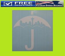 SEATTLE UMBRELLA 206 DECAL STICKER VINYL WINDOW JDM Racing Northwest ill Evo 12s