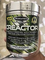 MUSCLETECH CREACTOR Creatine 120 servings, Unflavored, EX 7/26/17