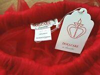 Dollcake In Character - Tutu Ready Skirt RED BNWT Size 6 FREE POST