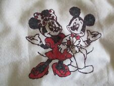 Vintage Spencer's Label - 70s Mickey & Minnie Mouse (12 Months Baby) Sweatshirt
