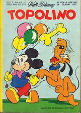 TOPOLINO N° 1126 - 26 GIUGNO 1977