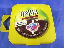 Monofilo Orion strong 50 mt 0,10 1,900 kg pesca agonismo, passata, canna fissa