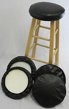 """eHemco 13"""" Bar Stool Seat Covers with Foam -Set of 4"""
