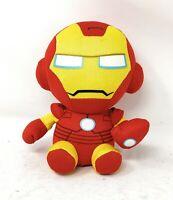 "TY Beanie Baby Marvel Comics Iron Man Plush Stuffed Animal Toy 6"""