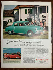 New ListingStudebaker - Six 1940's to 1964 Magazine ads Champion, Starliner, Lark, Avanti