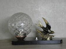 Lampe de table figurine desck vintage french marbre art deco Light Licht Bauhaus Vintage