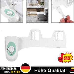 Bidet Dusch-WC DuschWC Aufsatz für Toilette Intimpflege Einstellbar Weiß DE