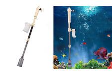 Pulitore elettrico per ghiaia sifone acquario pulizia acqua sabbia filtro AS615A