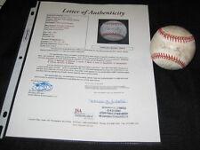 1992 NEW YORK YANKEES TEAM (10) SIGNED AUTOGRAPHED OAL BASEBALL JSA MATTINGLY +