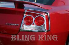 Dodge Charger chrome tail light bezel cover trim 2009 2010