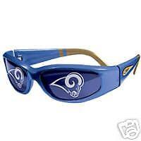 ST. LOUIS RAMS Titan Blue/Gold JAX NFL Sunglasses