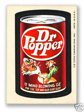 1974 Topps Wacky Packages Dr. Popper 8th Series 8 NM
