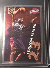 2009-10 PANINI NBA LEBRON JAMES #378 RARE FOIL SP STICKER CARD CLEVELAND CAVS