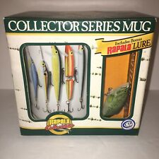 Rapala Collectibles Limited Edition Coffee Mug + Rapala Fishing Minnow Lure
