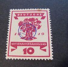 """GERMANIA,GERMANY  REICH PLEBISCITO 1920 """"Costituente SVR C.I.H.S."""" 10c MH* RARE"""