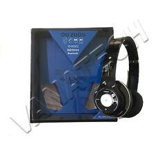 CUFFIE BLUETOOTH WIRELESS CON RADIO FM SLOT MIRCO SD STEREO SMARTPHONE GLS 24