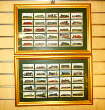 Vintage WD&HO Wills RAILWAY ENGINES- 50 Tr. Cards 75th Annv. Set