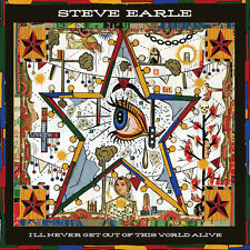 Steve Earle - I'll Never Get of This World Alive [New CD] Digipack Packaging