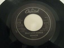 Wings silly love songs / cook of the house - 45 Record Vinyl Album 7""