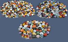 1 KG TROMMELSTEINE-Edelsteine+NATUR+BUNT+aufgeteilt in 3 Größen+