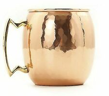 Old Dutch International 16-Ounce Solid Copper Hammered Moscow Mule Mug - NEW