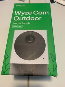Wyze Cam Outdoor Starter Kit includes 32GB SD Card - Free Shipping
