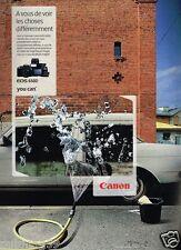 Publicité advertising 2012 Appareil Photo Canon EOS 650