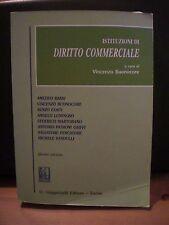 V. Buonocore, ISTITUZIONI DI DIRITTO COMMERCIALE, G.Giappichelli edit., 2004.