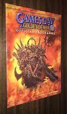 GAMESDAY & GOLDEN DEMON 2002 -- Official Programme -- Games Workshop (UK)