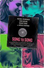 "Song To Song movie poster - 11"" x 17"" Rooney Mara, Natalie Portman, Ryan Gosling"