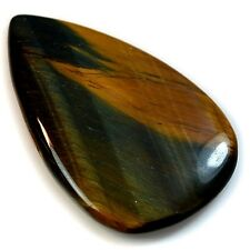 47.5Ct Natural HIGH SHEEN Tiger Eye (45mm X 29mm) Cabochon