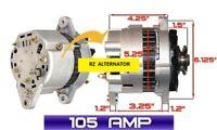 ALTERNATOR Fits HITACHI YANMAR MARINE 1GM 2GM 3GM 3HM ENGINES DELCO CS130