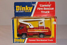 Dinky #384 Convoy Fire Rescue Truck, Nice with Original Box