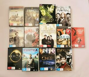 DVD TV series seasons used all in good condition