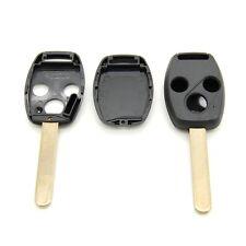 Coque pour clé 3 boutons Honda Accord Civic CRV avec emplacement transpondeur