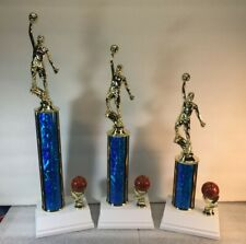 Basketball Trophies 1st,2nd,3rd Place FREE Engraving  Shipped  2-3 Day Mail