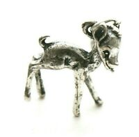 Baby Deer Bracelet Charm Vintage Sterling Silver Yellowstone Bear Tag Bambi