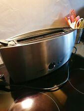 Bosch TAT6801 Grille-pain longues tranches Acier Alu brossé noir pour pièces HS
